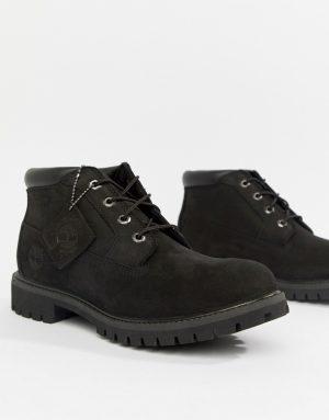 Timberland premium chukka boots in black - Black