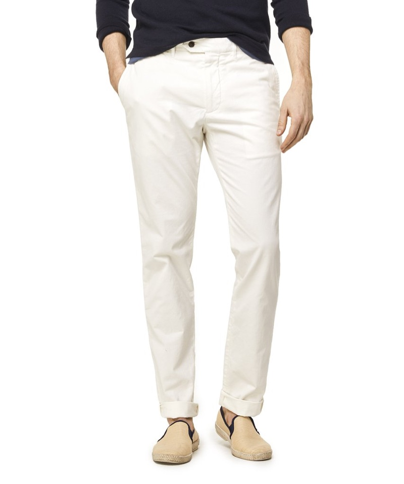 Todd Snyder Extra Slim Fit Tab Front Stretch Chino $118