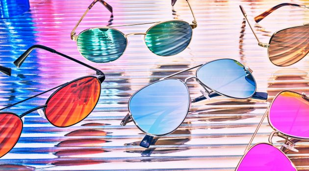 Step Into the Sun with Warby Parker's Flashy Aviator Sunglasses