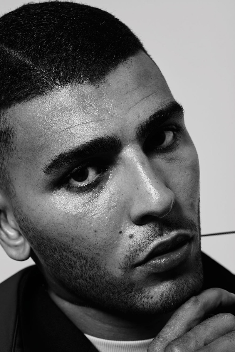 Younes Bendjima Stars in Vogue Man Arabia Cover Story