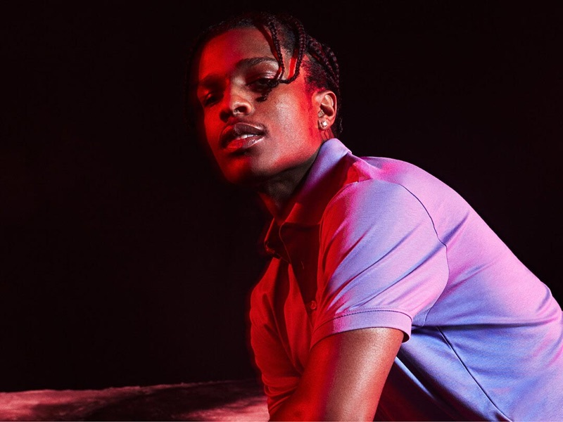 Reuniting with Calvin Klein, A$AP Rocky fronts the brand's spring-summer 2019 #MYCALVINS campaign.