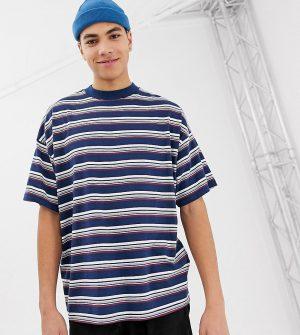 ASOS DESIGN Tall oversized striped t-shirt - Multi