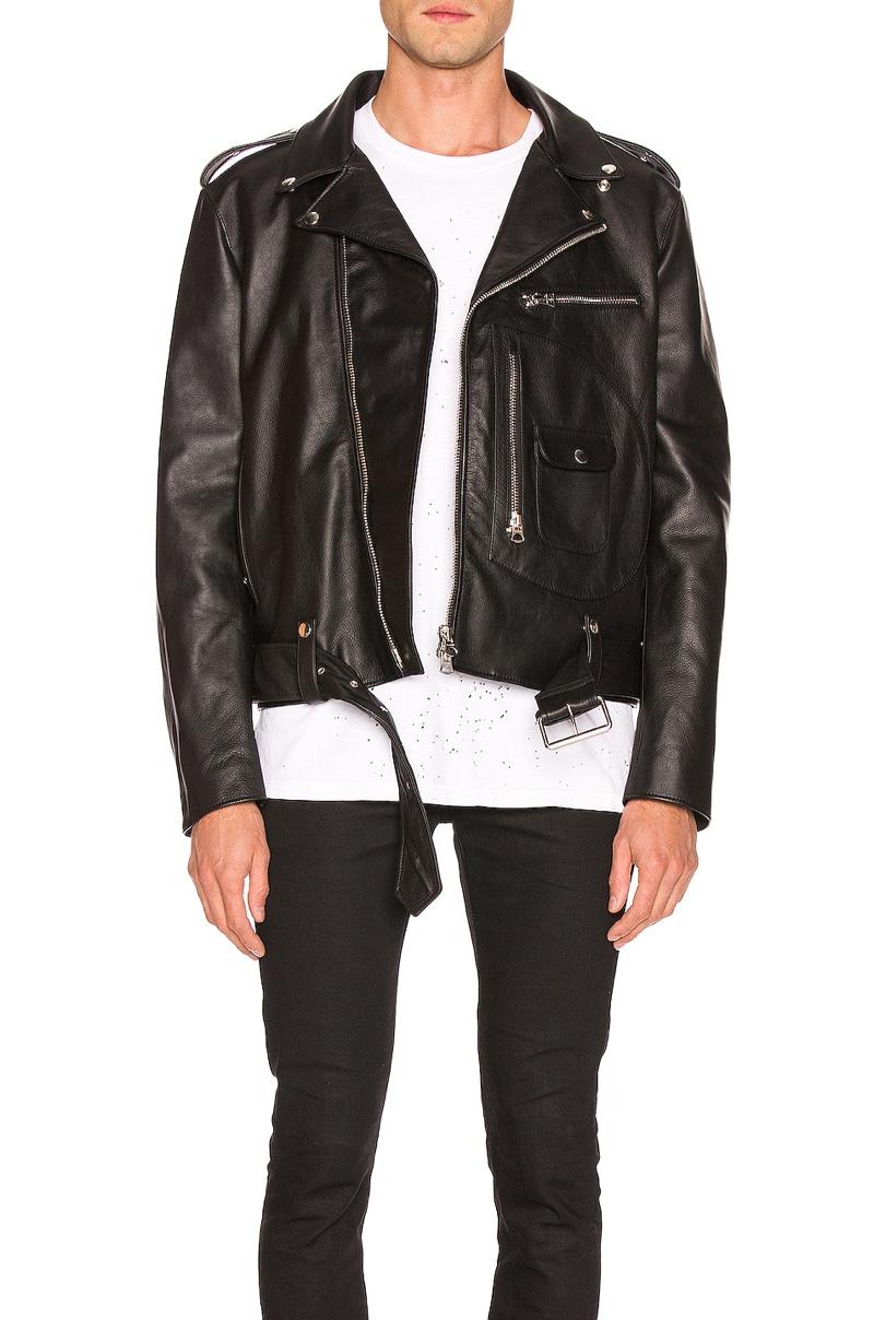 Acne Studios Leather Jacket $1,800