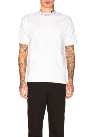 Acne Studios Navid Tee in White. - size L (also in )
