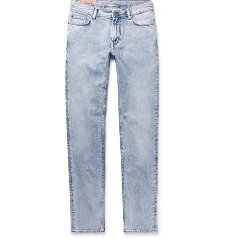 Acne Studios - North Skinny-Fit Denim Jeans - Men - Light denim