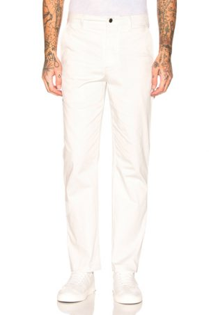 Acne Studios Satin Trousers in White. - size 50 (also in 46,48,52)