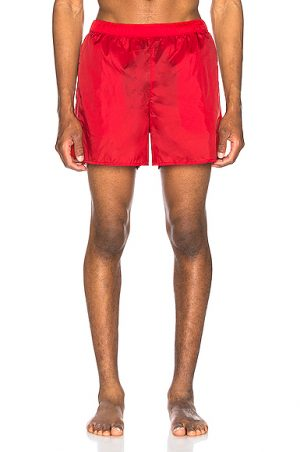 Acne Studios Warrick Nylon Swim Shorts in Red. - size XL (also in S,M,L)