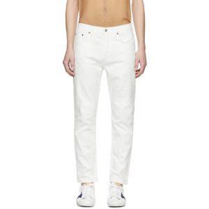 Acne Studios White Bla Konst River Jeans