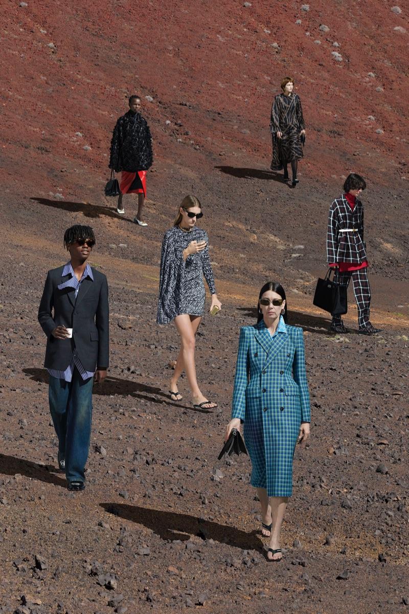 Balenciaga unveils its fall-winter 2019 campaign.