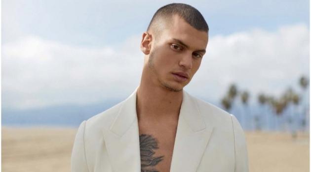 Brandon Good Takes to Venice Beach for Esquire Singapore