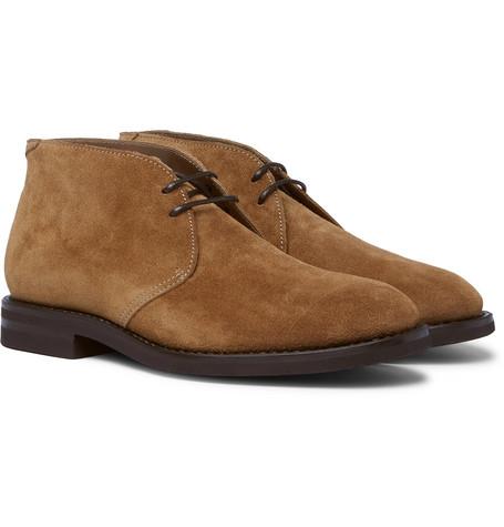 Brunello Cucinelli - Suede Chukka Boots - Men - Tan
