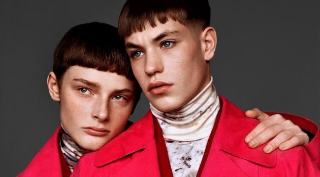 Document Journal Highlights Sleek Berluti Fashions