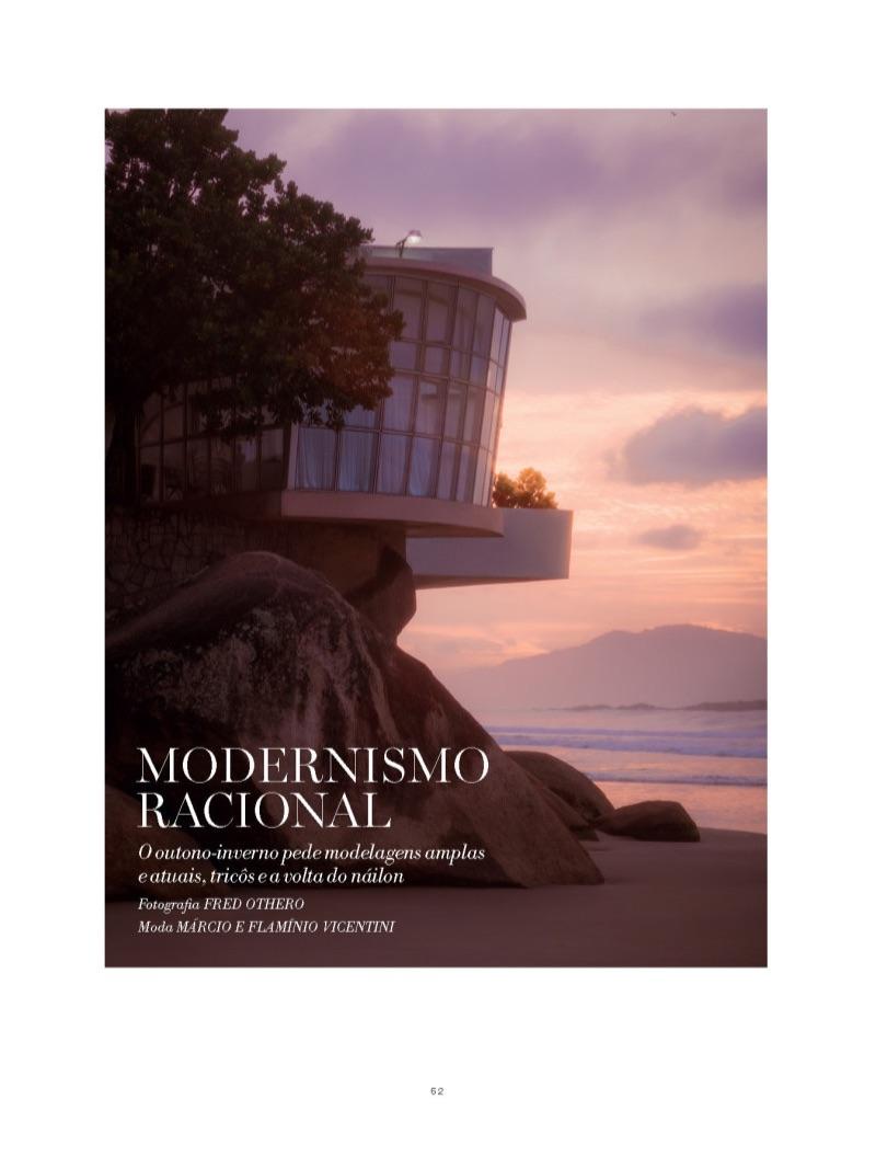 Modernismo Racional: Efraim Schröder for L'Officiel Hommes Brasil