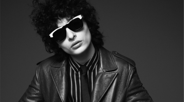 Finn Wolfhard stars in Saint Laurent's fall-winter 2019 campaign.
