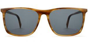 Fletcher Wide m sunglasses in English Oak (Grey Rx)