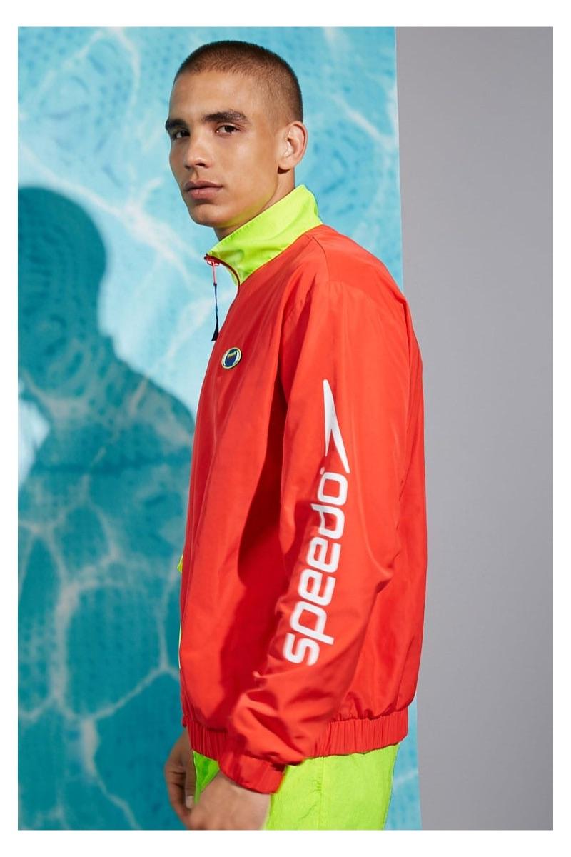 Speedo Neon-Trim Anorak $39.90