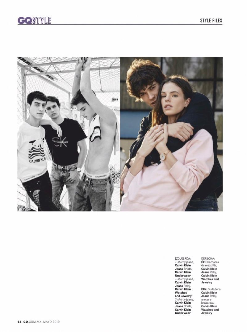 Boys Club: GQ México Takes on Calvin Klein Jeans
