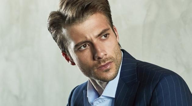 Gilberto Fritsch Impresses in Corneliani for Forbes Korea