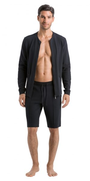 HANRO Bruno Shorts - Anthracite S - 75055