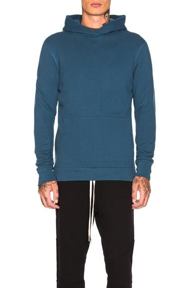 dcfc0546 JOHN ELLIOTT Hooded Villain Sweatshirt in Blue. – size M (also in ...