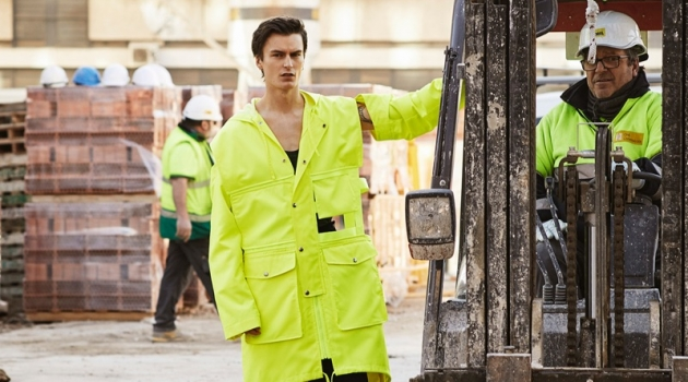 Jack Chambers Sports Workwear-Inspired Looks for GQ China