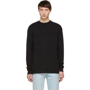 John Elliott Black Crewneck Sweatshirt