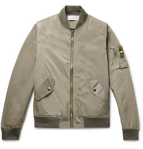 59268df68 John Elliott - Bogota Iridescent Nylon Bomber Jacket - Men - Sage green