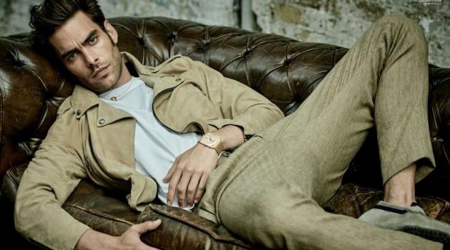 Jon Kortajarena is Chic for L'Officiel Hommes Korea Cover Story
