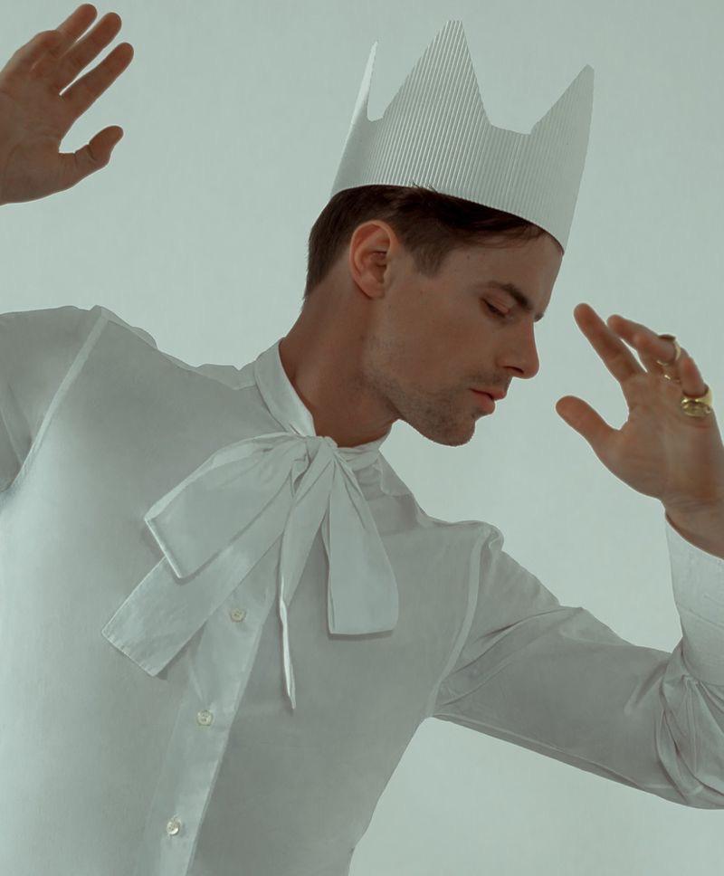 Jules Horn Rocks Eccentric Fashions for L'Officiel Hommes Singapore