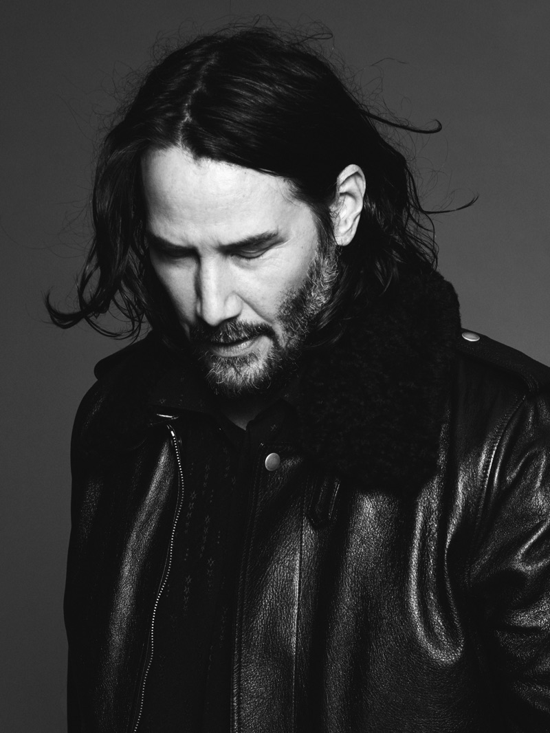 Saint Laurent taps Keanu Reeves as the star of its fall-winter 2019 campaign.