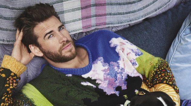Liam Hemsworth Covers GQ Australia, Talks Brother Chris