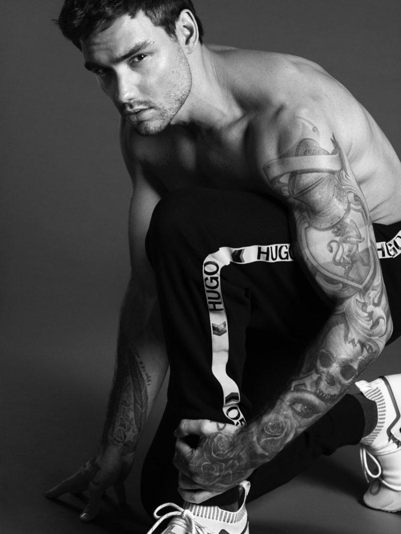 Liam Payne Shirtless Photo Shoot
