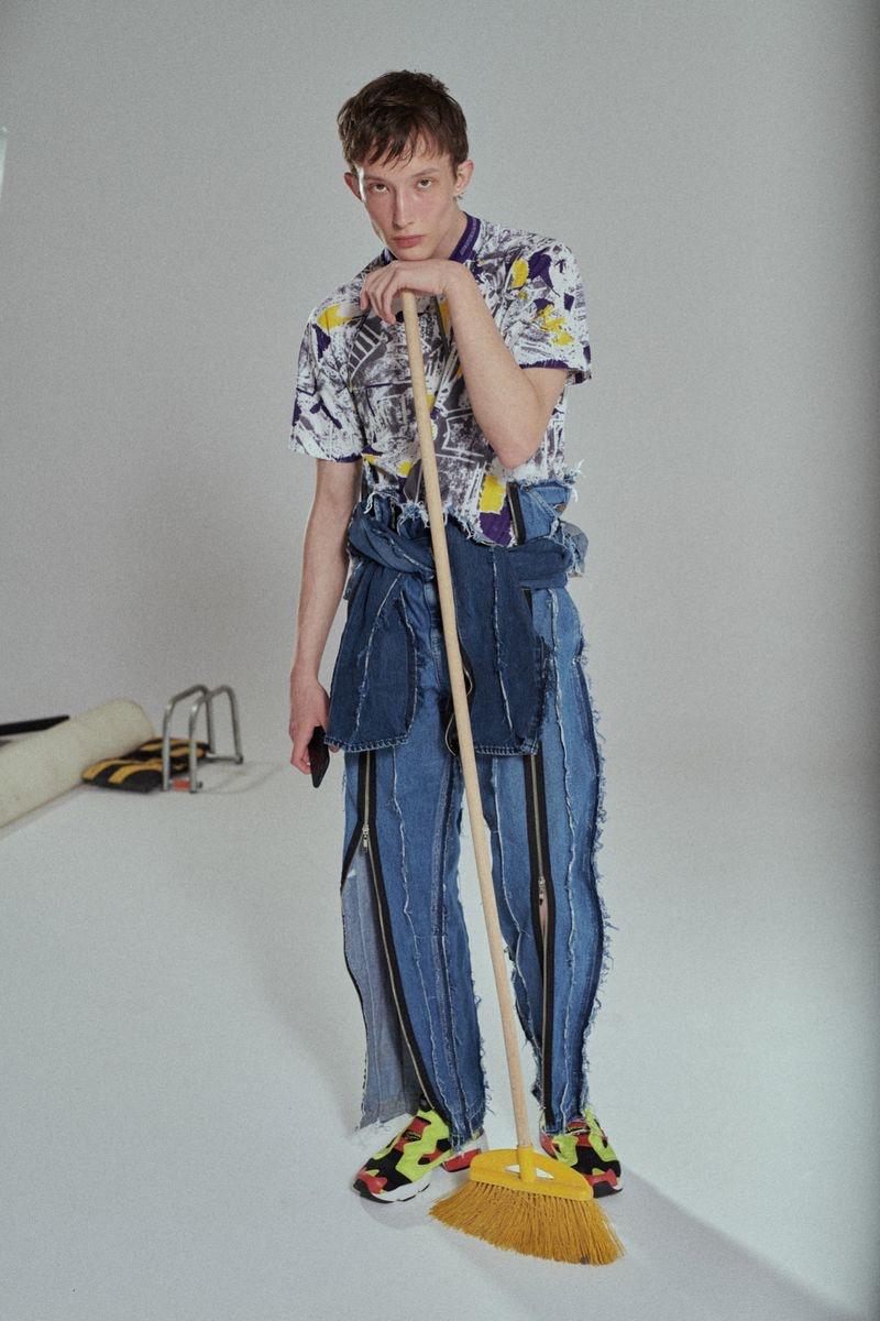 Mateusz Chmielewski Rocks Bold Fashions for Vogue Czechoslovakia