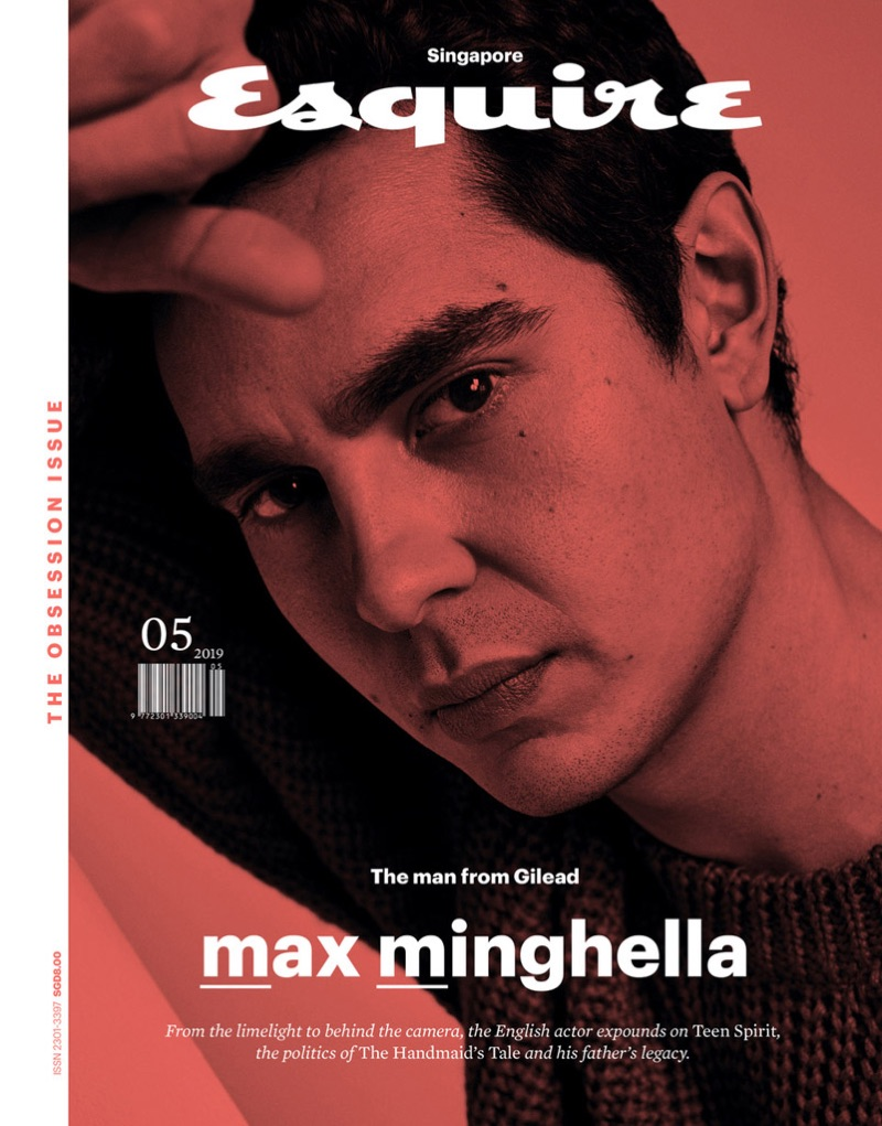Max Minghella covers the May 2019 issue of Esquire Singapore.