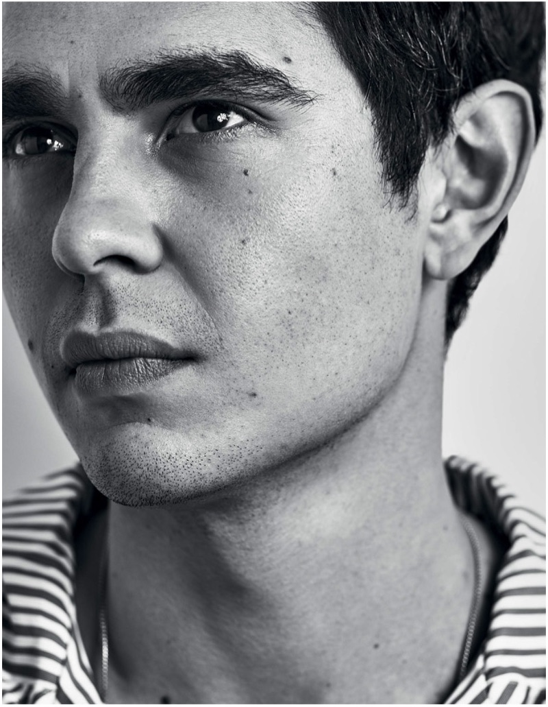 Michael Schwartz photographs Max Minghella for Esquire Singapore.