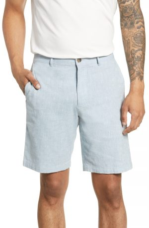 Men's Club Monaco Maddox Chambray Shorts