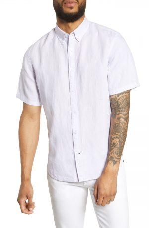 Men's Club Monaco Slim Fit Linen Sport Shirt