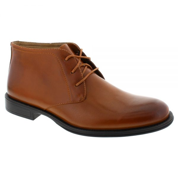 Men's Deer Stags Mean Chukka Boots - Chestnut 8.5, Brown
