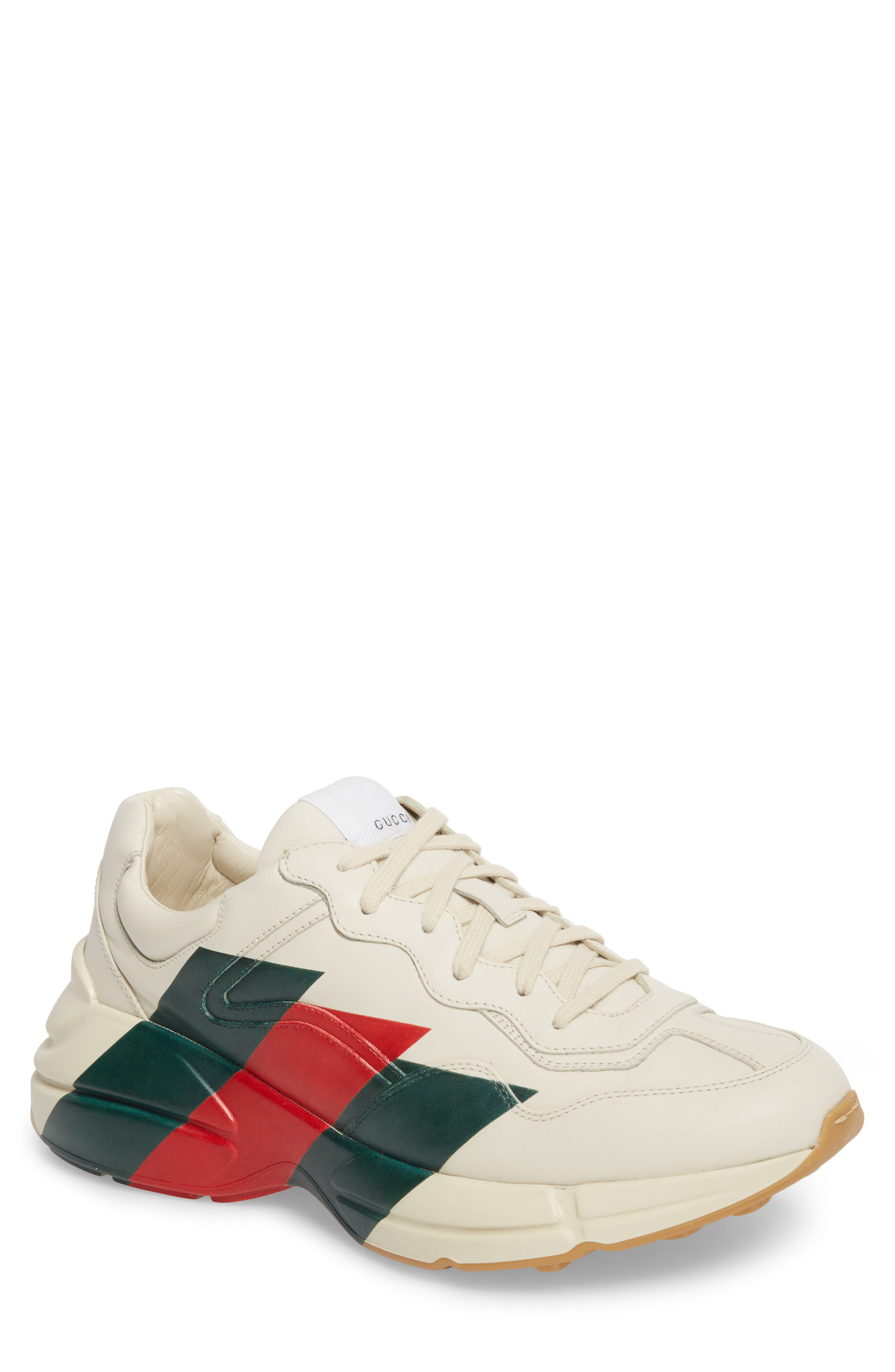 Men S Gucci Rhyton Sneaker Size 8 5us 7 5uk White The Fashionisto