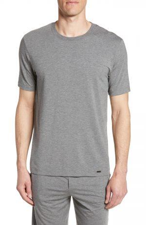 Men's Hanro Casuals Crewneck T-Shirt, Size Small - Beige