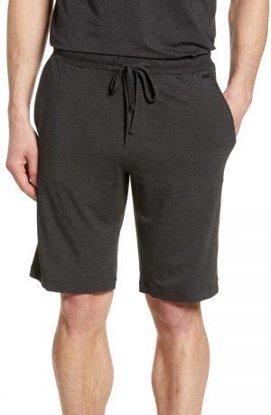 Men's Hanro Casuals Lounge Shorts, Size Small - Black
