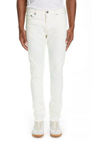 Men's John Elliott The Cast 2 Skinny Fit Jeans, Size 31 - White