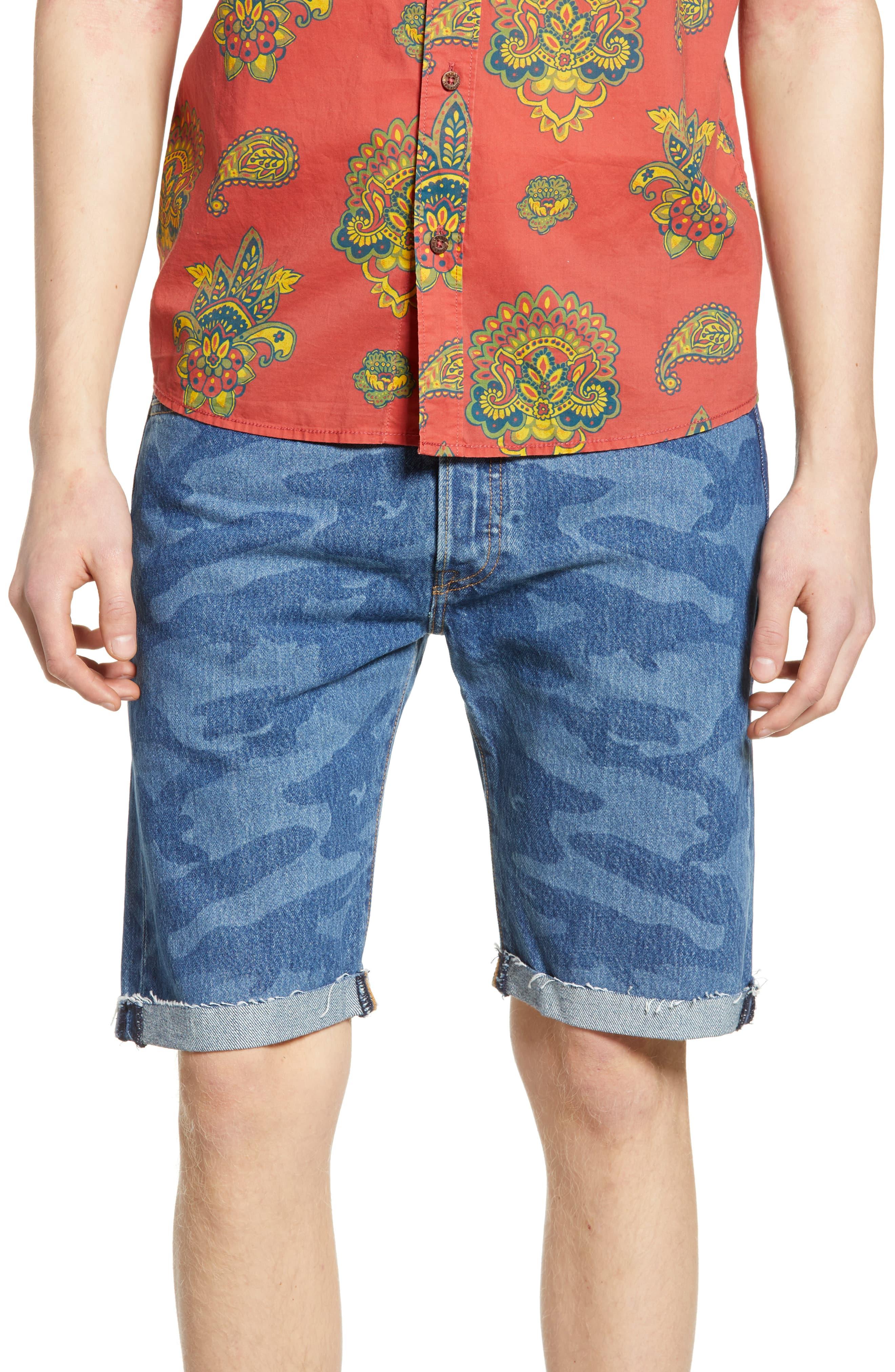 31a77ec9 Men's Levi's 501 Cut Off Denim Shorts, Size 29 – Blue   The Fashionisto