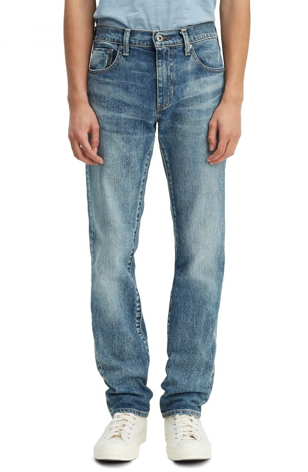 Men's Levi's Made In Japan 511(TM) Slim Fit Selvedge Jeans (Westward Sun)
