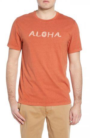Men's Madewell Allday Aloha Regular Fit Graphic T-Shirt