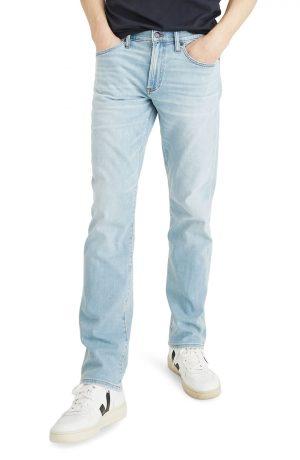 Men's Madewell Straight Leg Jeans, Size 28 x 32 - Blue