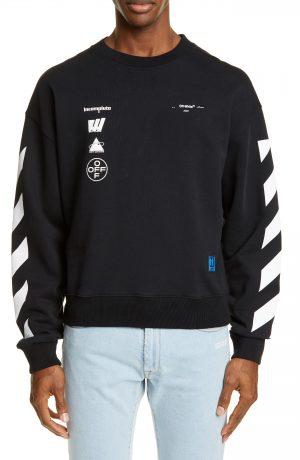 Men's Off-White Mariana Graphic Sweatshirt