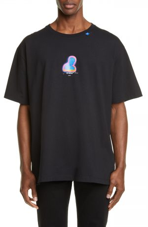 Men's Off-White Thermo Oversize Graphic T-Shirt