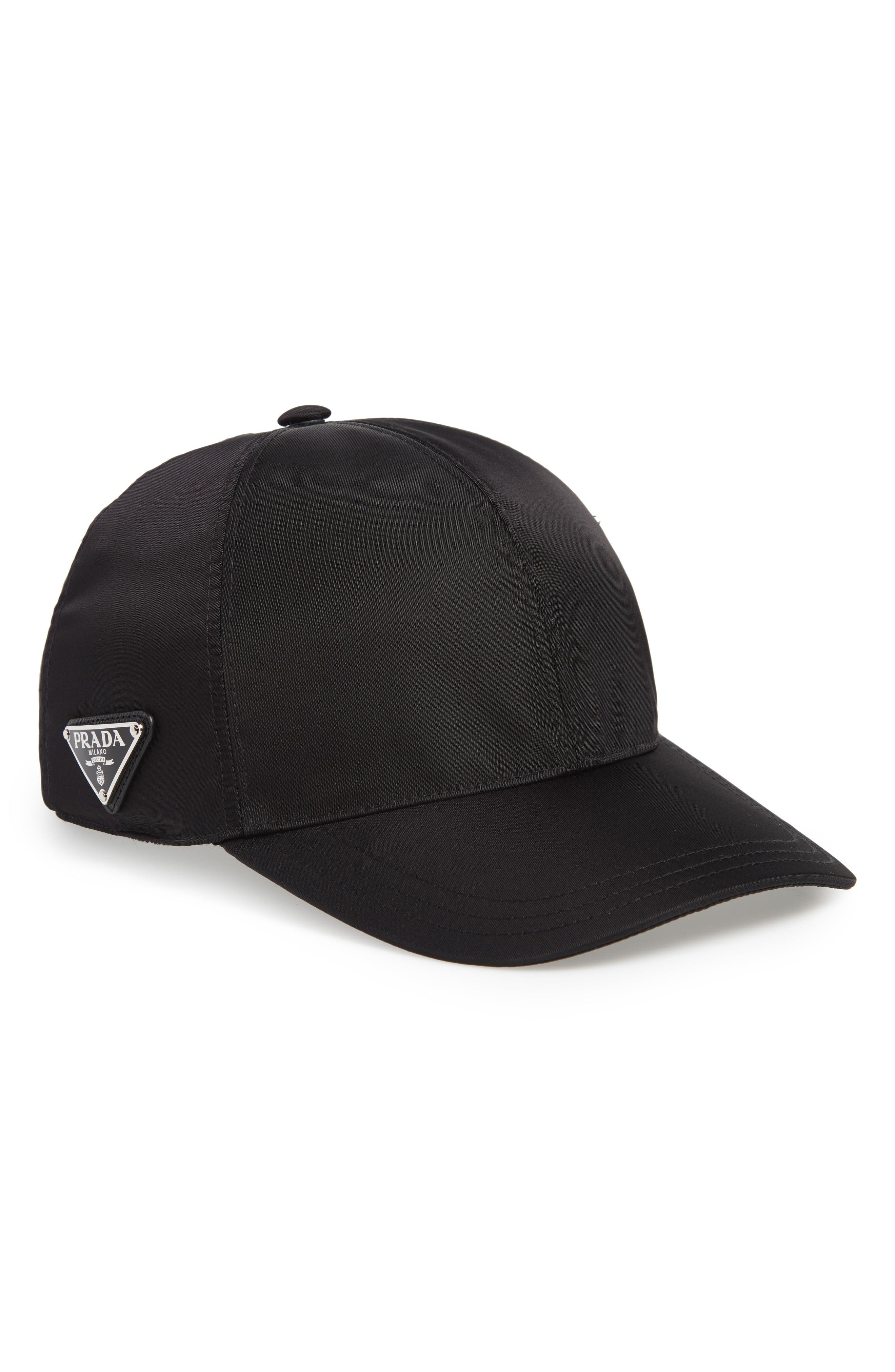 db7ea20f8 Men's Prada Nylon Ball Cap –   The Fashionisto