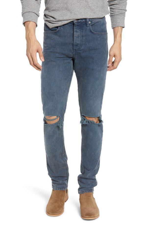 Men's Rag & Bone Fit 1 Ripped Skinny Jeans
